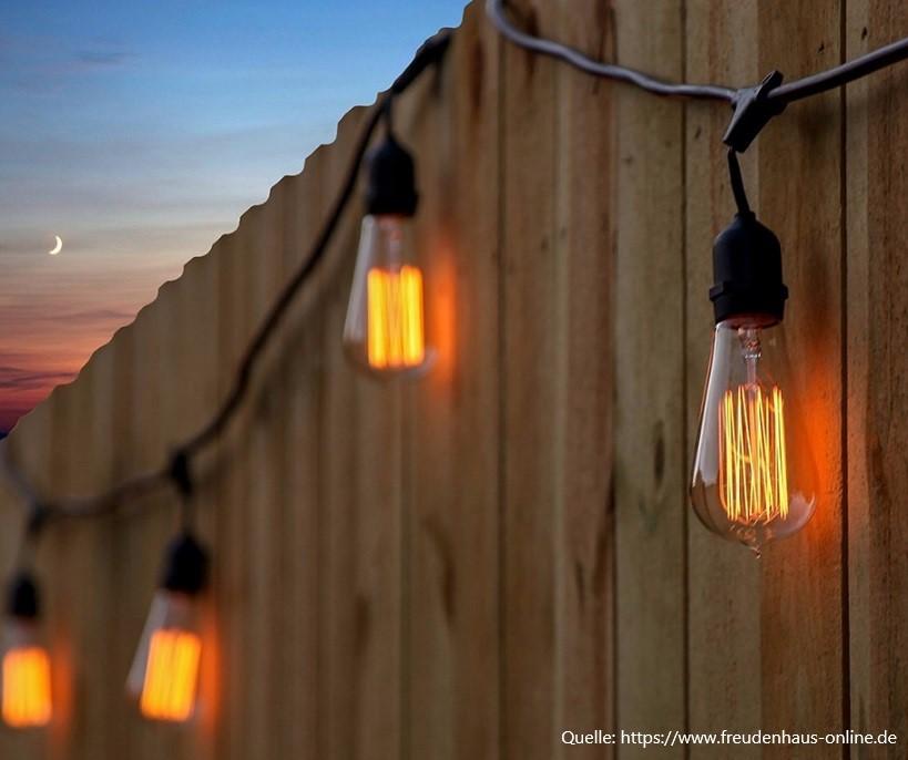 Edison-Lichterkette 10 m